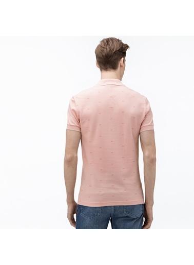 Lacoste Erkek Slim Fit Tişört PH5061.XF6 Pembe